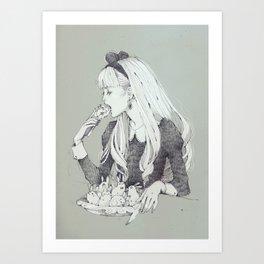 Sei quello che mangi Art Print