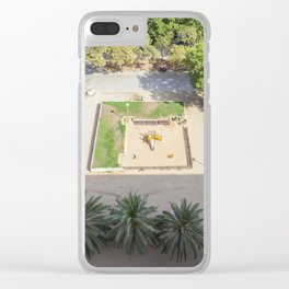 Barcelona Aerial Clear iPhone Case