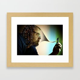 Absorbed Framed Art Print