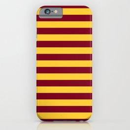 Minnesota Team Colors Stripes iPhone Case
