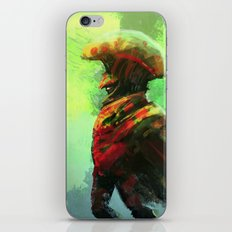 Mushroom King iPhone & iPod Skin