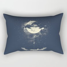 MOON CLIMBING Rectangular Pillow