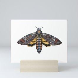 African Death's Head Hawkmoth (Acherontia atropos) Mini Art Print