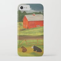 farm iPhone & iPod Cases featuring Farm by ArtSchool