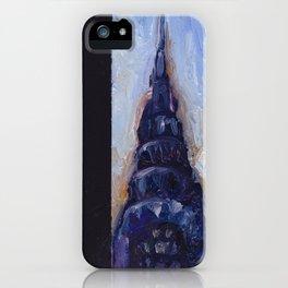 Subway Card Chrysler Building No. 9 iPhone Case