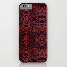 Electric Red Cubes  iPhone 6s Slim Case