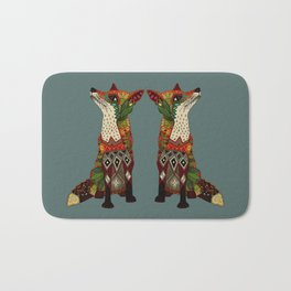 fox love Bath Mat