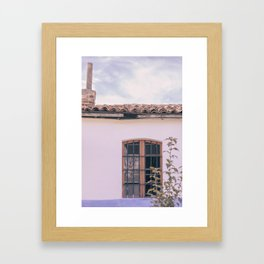 Cute House Framed Art Print