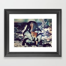 SONG TO THE SIREN Framed Art Print