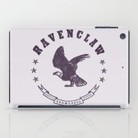 ravenclaw iPad Cases featuring Ravenclaw House by Shelby Ticsay