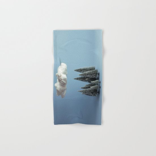 A cloud over the forest Hand & Bath Towel