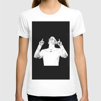 bill murray T-shirts featuring Murray Victorious by Dropshot Dime Store