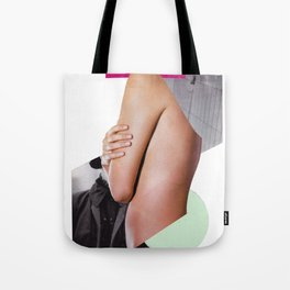 go hug yourself Tote Bag