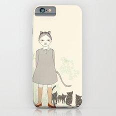 Cat Girl Slim Case iPhone 6s