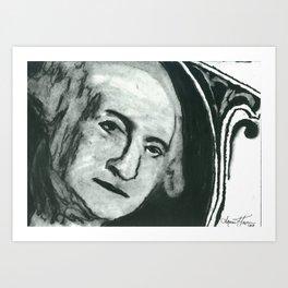 Georgie Art Print