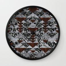 Wood Galaxy Wall Clock