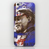 soviet iPhone & iPod Skins featuring Soviet times by LuzGraphicStudio