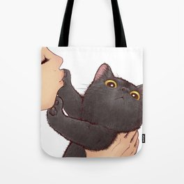 cat : huuh Tote Bag