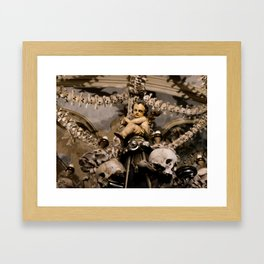 in the midst of life we are in death et cetera Framed Art Print