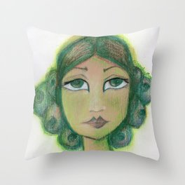 Envy is a virtue Throw Pillow