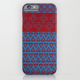 Japanese Style Bohemian Pattern iPhone Case