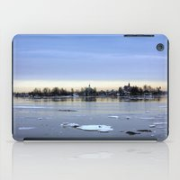 finland iPad Cases featuring helsinki (finland) - island by aune