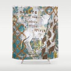 Nature Spirit Shower Curtain