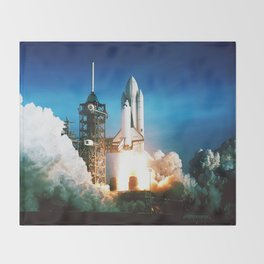 Space Shuttle Launch Throw Blanket