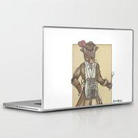 drum Laptop & iPad Skins featuring Drum Cat by Felis Simha