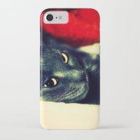 meditation iPhone & iPod Cases featuring Meditation by Klara Acel