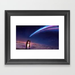 Your Name Framed Art Print
