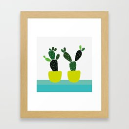 Meanwhile, in New Mexico Framed Art Print
