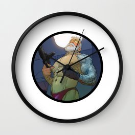 Cable Wall Clock