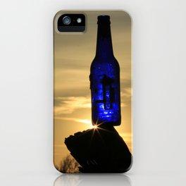 Blue Bottle Sunset #3 iPhone Case