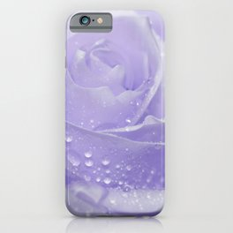 Rose with Drops 085 iPhone Case