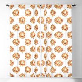 Bagel Bun Bakery Kitchen Decor Picture Wall Poster Watercolor Blackout Curtain