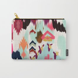 Bohemian Tribal Painting Carry-All Pouch