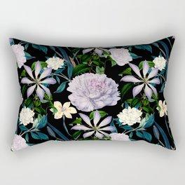 Exotic garden paradise night Rectangular Pillow
