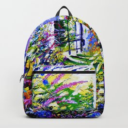 Country Garden Retreat Backpack