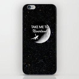 Take Me To Neverland iPhone Skin