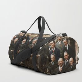 Solvay Conference Duffle Bag