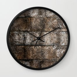 Wood Daze Wall Clock