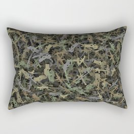 Weapon camouflage Rectangular Pillow