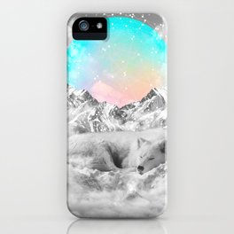 Put Your Thoughts To Sleep iPhone Case