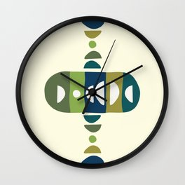 Storm Calka Green Space Wall Clock