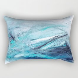 Iceland Blues Rectangular Pillow