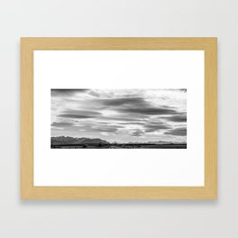 Mackenzie Skies Vista Framed Art Print