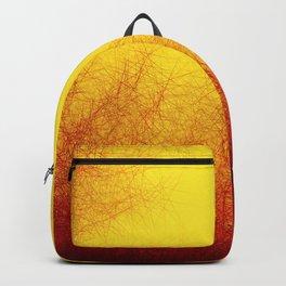 Linear Radial Sunset Backpack