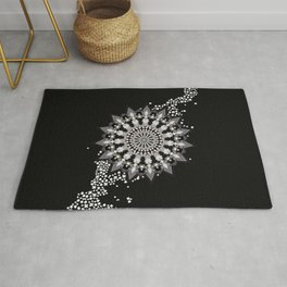 Wheel of Blossoms Rug