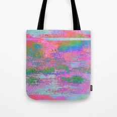 08-12-13 (Building Pink Glitch) Tote Bag